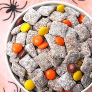 Halloween Muddy Buddies Party Mix