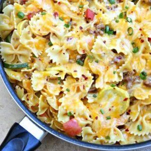http://www.happygoluckyblog.com/wp-content/uploads/2016/10/One-Pot-Cheesy-Sausage-Skillet-Pasta-2-e1477577301394-300x300.jpg