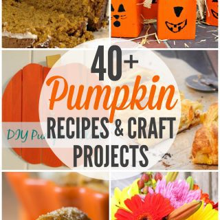 40+ Pumpkin Recipes and Craft Projects