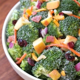 Broccoli Apple Salad {and Easy Dinner Tips}