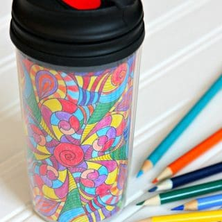 Color Your Own Insulated Tumblers