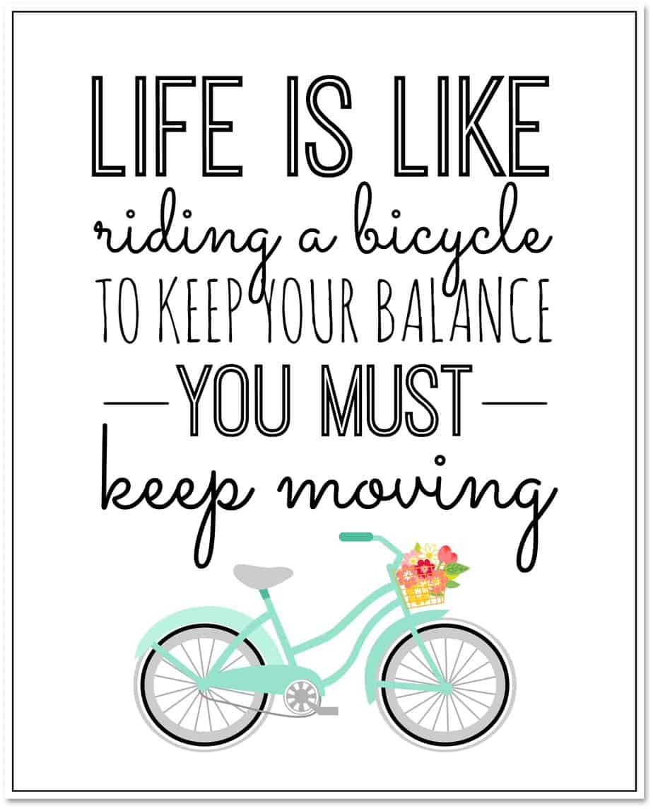 life-is-like-riding-a-bicycle-free-printable