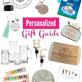 Gift Guide – Personalized Gift Ideas