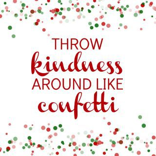 Random Acts of Christmas Kindness {Our Advent Calendar}