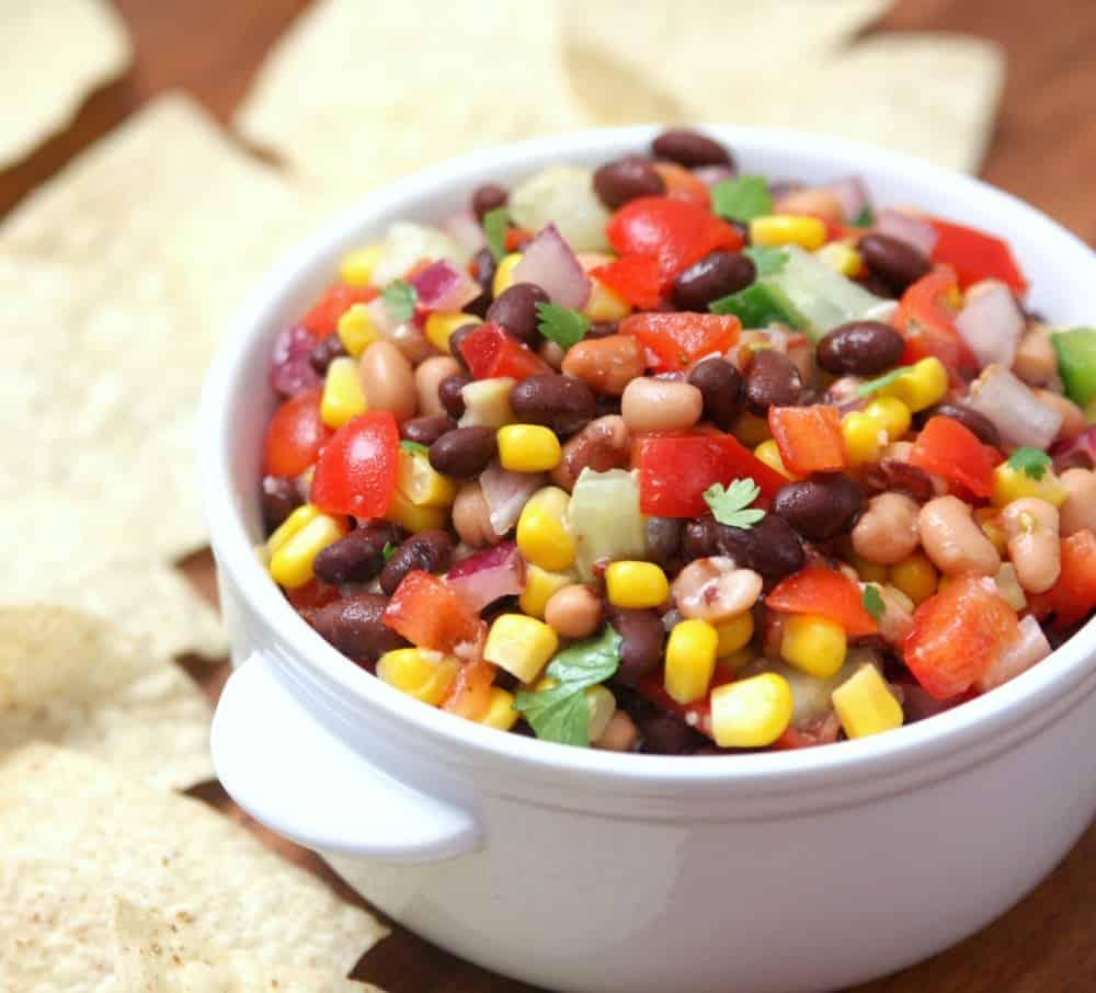 Black-Eyed Pea Dip - Happy-Go-Lucky