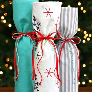 Easy 5 Minute Wine Gift {and a free Trial at BJ's}