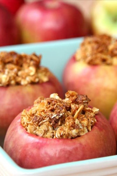 Granola Baked Apples