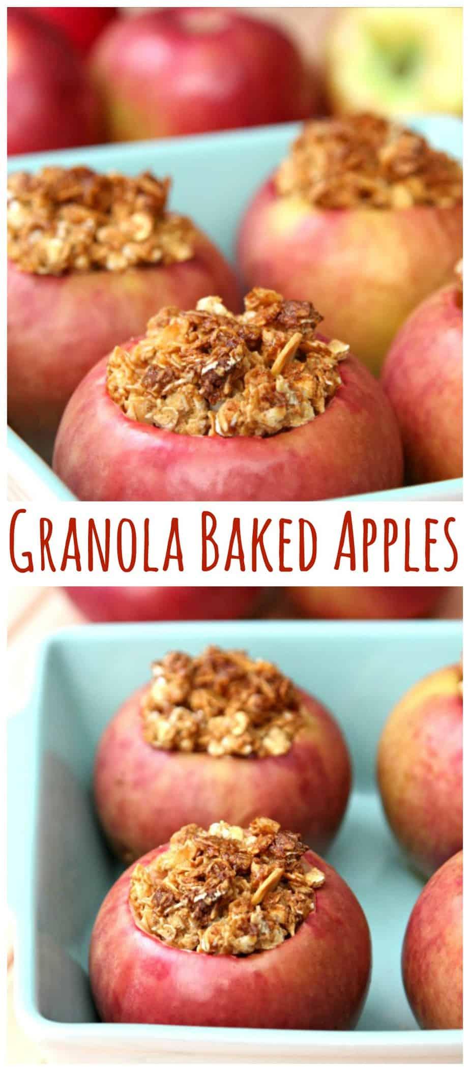Granola Baked Apples