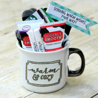 Sending Warm Wishes Your Way! {Gift in a Mug}