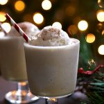 If you love eggnog you are going to love these eggnog floats. Add a little brandy for a delicious winter cocktail or serve without for a tasty winter treat.