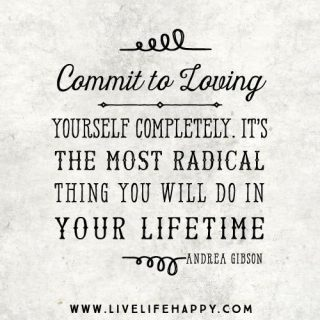 Commit to Loving Yourself More!