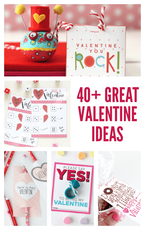 Valentine\'s Day Teacher Gift {Free Printable} - Happy-Go-Lucky