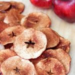 Apple Chips made with simple ingredients.