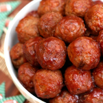 Cranberry Party Meatballs