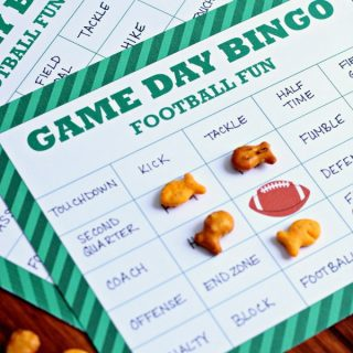 Football Bingo {Free Printable}