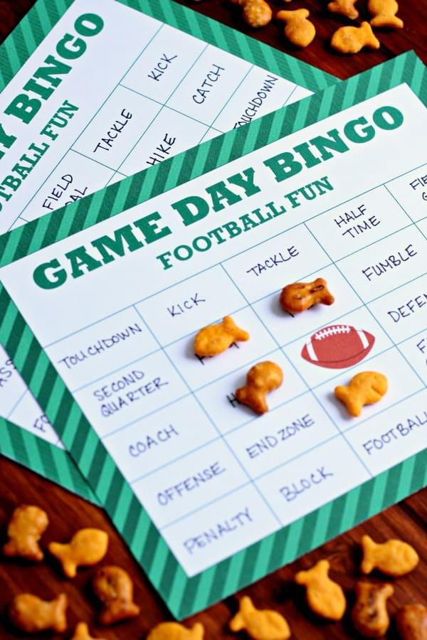 Football-Bingo