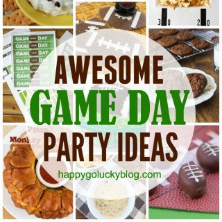 Awesome Game Day Party Ideas {Create Link Inspire}