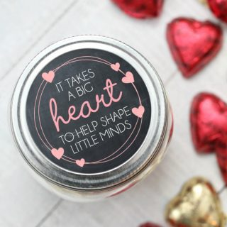 Valentine's Day Teacher Gift {Free Printable}