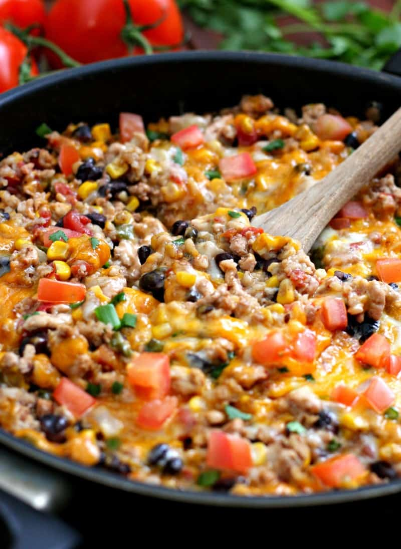 One Pot Burrito Bowls