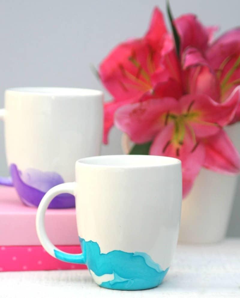 Watercolor Mugs 4