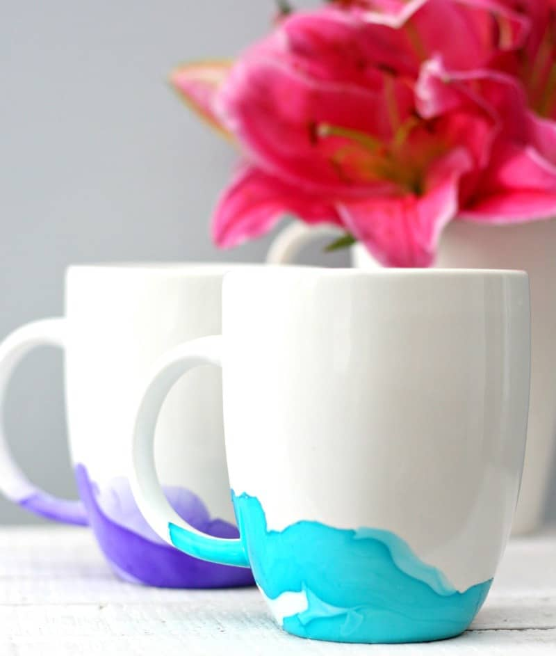 Watercolor Mugs 5