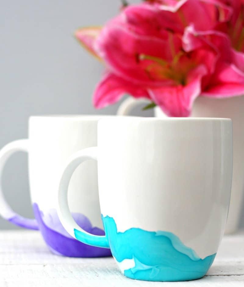 Watercolor Mugs 5
