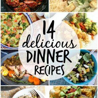 14 delicious dinner recipes