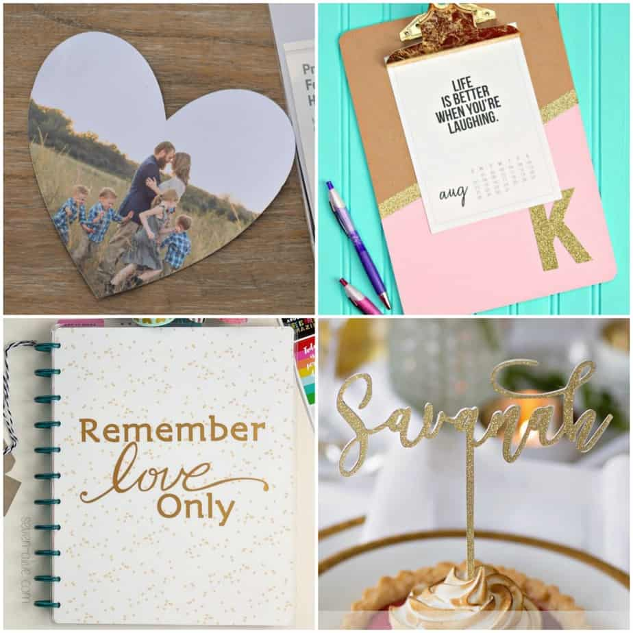 What Can I Make with My Cricut? 25 Cricut Projects