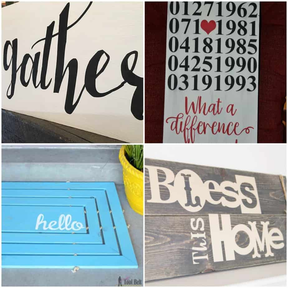 25 Cricut Projects - What Can I Make with My Cricut?