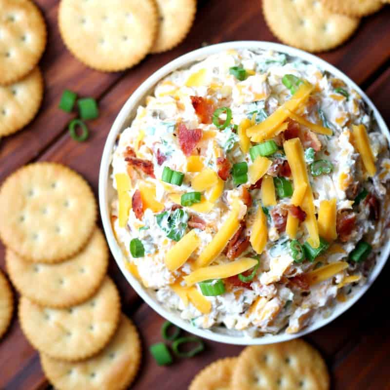 This recipe for Million Dollar Dip is an easy dip recipe to make ahead of time. It's easy to make and tastes amazing.