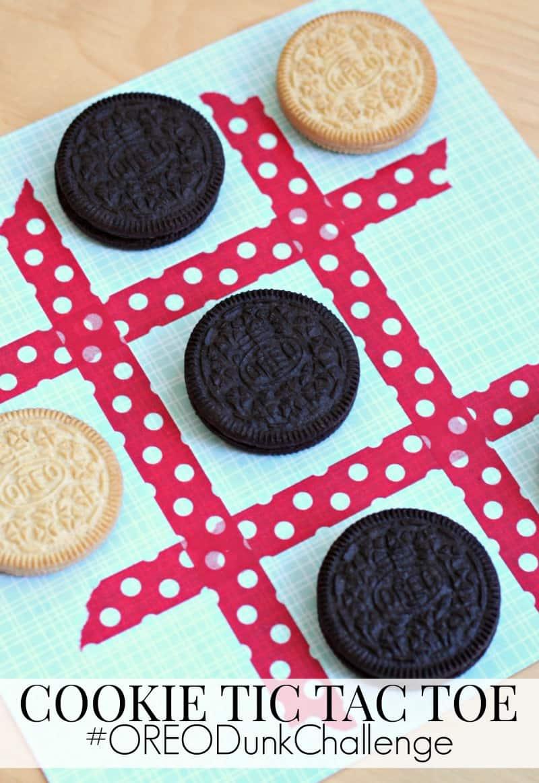 OREO Cookie Tic Tac Toe