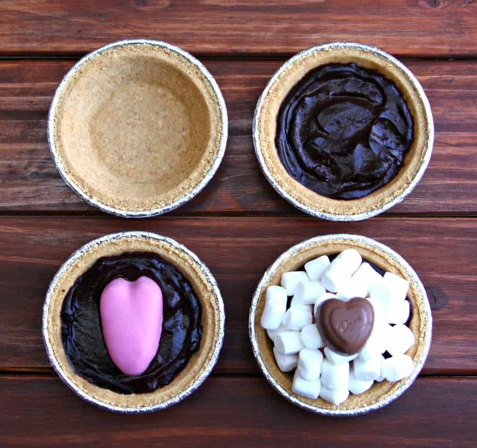 Reese's Peanut Butter Cup Mini S'mores Pies-2