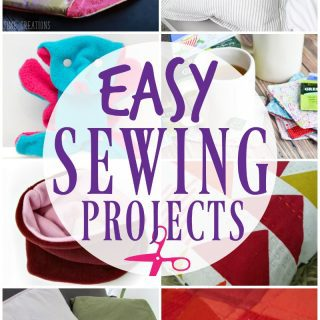 10 Easy Sewing Projects {Create Link Inspire Party}