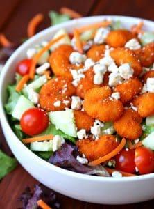 http://www.happygoluckyblog.com/wp-content/uploads/2017/03/Buffalo-Shrimp-Salad-4-222x300.jpg