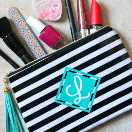 DIY Personalized Cosmetic Bag