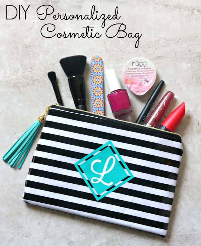 DIY Personalized Cosmetic Bag
