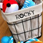 DIY Personalized Dog Toy Bin 6
