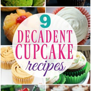 Decadent Cupcake Recipes {Create Link Inspire Party}