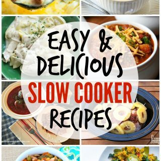 Easy Slow Cooker Recipes {Create Link Inspire Party}