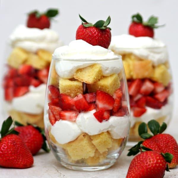Strawberry Shortcake Parfaits 3