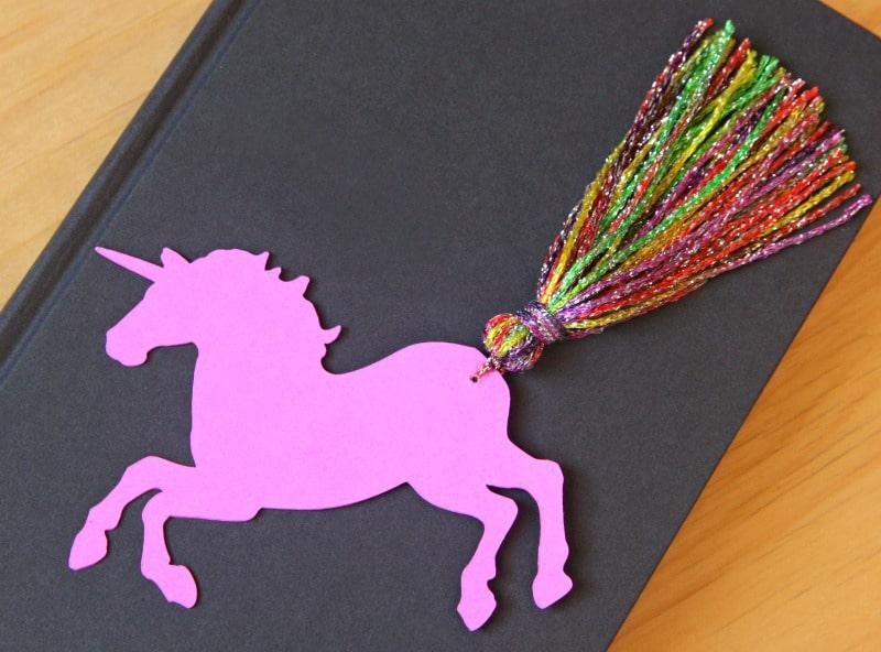 Unicorn Bookmark 2
