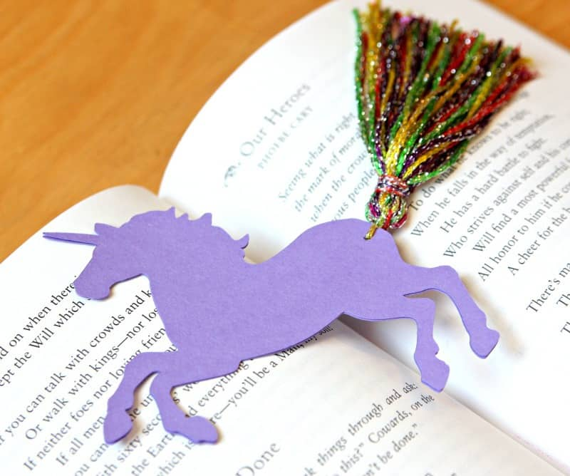Unicorn Bookmarks 3