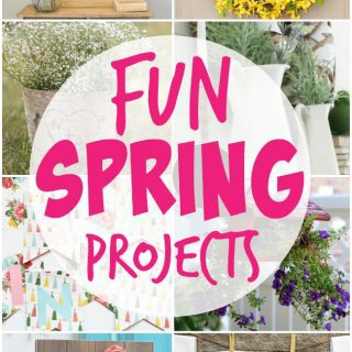 Fun Spring Projects {Create Link Inspire Party}