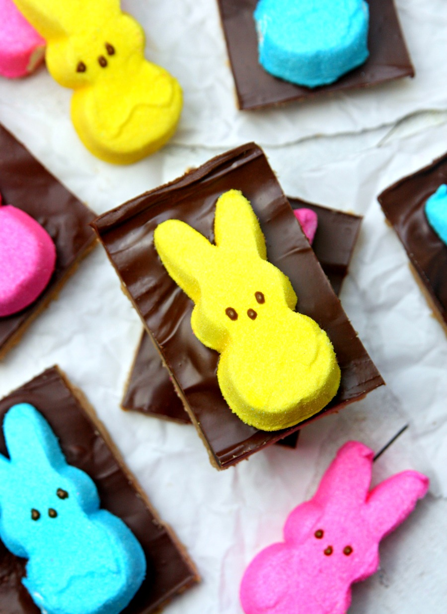 PEEPS S'mores Bars Easter Dessert Recipe
