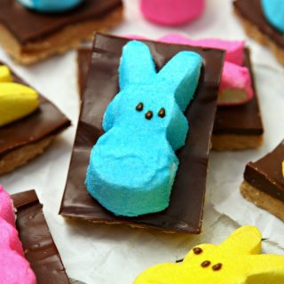 PEEPS Easter Peanut Butter S'mores Bars
