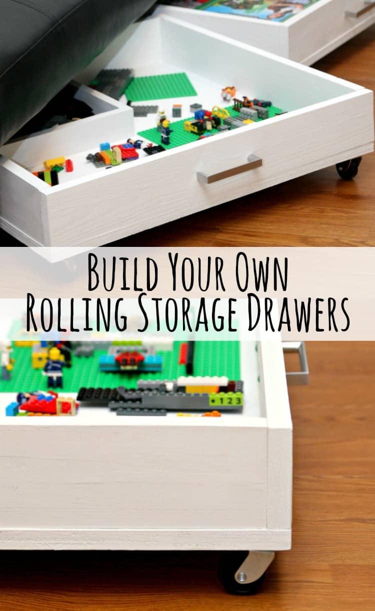 Rolling Storage Drawers