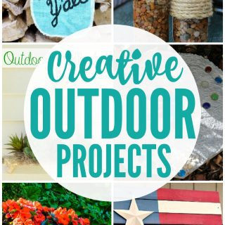 Creative Outdoor Projects {Create Link Inspire Party}