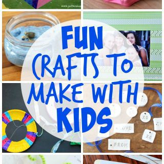 Crafts to Make with Kids {Create Link Inspire Party}