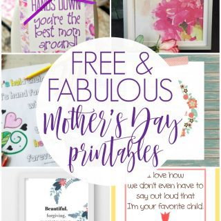 Mother's Day Printables {Create Link Inspire Party}
