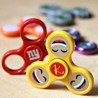 DIY Personalized Fidget Spinners